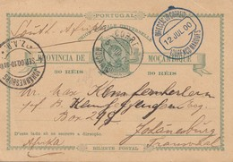 Mocambique 1900: Post Card  Lourenco Marquesto To Johannesburg/Transvaal - Mosambik