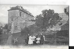 PARIS 75018 MONTMARTRE N 598 MAISON DE ROSE DE ROSIMOND    COMEDIEN TROUPE DE MOLIERE    PERSONNAGES TIRAGE 1900 - District 18