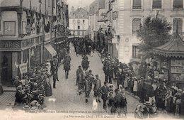 2714 Cpa 18 Bourges - Les Trois Grandes Journées Régionalistes De Bourges - Bourges