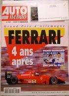 CA010 Autozeitschrift AUTO Hebdo, Nr. 943, 1994, Französisch, Neuwertig - Auto/Motorrad