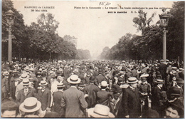 75 PARIS - Marche De L'armée 1904 - Départ Place De La Concorde - Autres