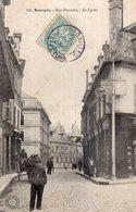 2729 Cpa 18 Bourges - Rue Paradis, Le Lycée - Bourges