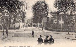 2733 Cpa 18 Bourges - Avenue De La Gare - Bourges