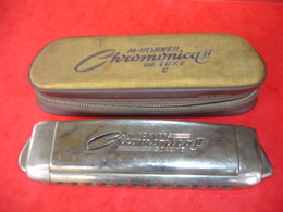 Harmonica Hohner Chromonica II De  Luxe - Instrumentos De Música