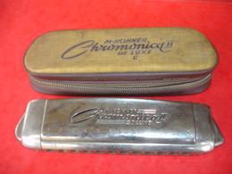 Harmonica Hohner Chromonica II De  Luxe - Musical Instruments