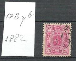 FINLAND FINNLAND 1882 Michel 17 B Y B O - 1856-1917 Administration Russe