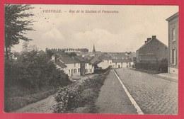 Viesville - Rue De La Station Et Panorama - Feldpost 1915 ( Voir Verso ) - Pont-à-Celles