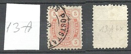 FINLAND FINNLAND 1882 Michel 13 A O - Gebraucht