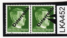 """LKA452 ÖSTERREICH 1945 ANK 660 PLATTENFEHLER Kurzes """" R """" Und """" R """"  Mit PUNKT ** Postfrisch - Abarten & Kuriositäten"""