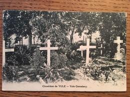 CPA, Papouasie-Nouvelle-Guinée, Cimetière De Yule, Yule Cemetery - Papoea-Nieuw-Guinea