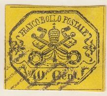 ETATS PONTIFICAUX. N° 17. 40 CENT /  7563 - Etats Pontificaux