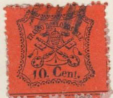 ETATS PONTIFICAUX. N° 22.10 CENT /  7563 - Etats Pontificaux