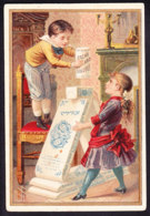 CHROMO Chocolat SUCHARD   +/- 1891    Serie 21        Imp. Romanet    Trade Card - Suchard