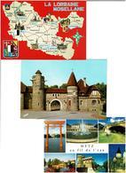 57 / MOSELLE /  Lot De 90 Cartes Postales Modernes écrites - Cartes Postales