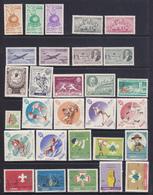 Libano  1954-68    12 Serie Cpl Di P.O.+P.A. Tra I N/n Yv. 107 E 274  Tutti  MNH ** - Libano