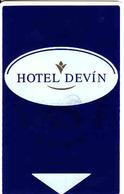 Slovakia - Slovaquie, Hotel Magnetic Keycard, Hotel Devin Bratislava - Cartes D'hotel