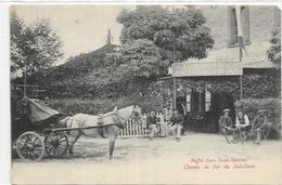 31. TOULOUSE. CAFE RESTAURANT AU PARASOL. BUFFET GARE SAINT SAUVEUR. CHZEMIN DE FER DU SUD OUEST - Toulouse