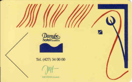 Slovakia - Slovaquie, Hotel Magnetic Keycard, Hotel Danube Bratislava, Meydan Hotels - Hotel Keycards