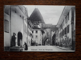 L17/230 Suisse. Estavayer. Porte Des Religieuses - FR Fribourg