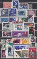UdSSR 1959-1966  - Partie Raumfahrt Mit 31 Verschiedenen  Used - ** - Raumfahrt
