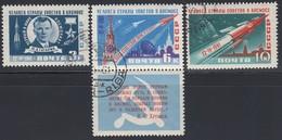 UdSSR 1961  - MiNr: 2473-2475 Komplett  Used - Raumfahrt