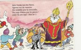 BAJOLET Philippe  - * SAINT NICOLAS Mon Bon Patron - Apportez Moi Des Macarons *  -  Editeur J.M.CUNY De Nancy - Autres Illustrateurs