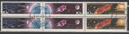 UdSSR 1963  - MiNr: 2747-2752 Komplett  Used - Raumfahrt