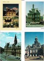 MAIRIES - HÔTELS DE VILLES /  Lot De 45 Cartes Postales Modernes écrites - Postkaarten