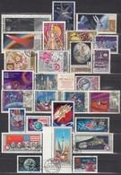 UdSSR 1966-1975  - Partie Raumfahrt Mit 27 Verschiedenen  Used - Raumfahrt