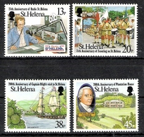 St Helena 1992 Local Anniversaries MNH CV £5.85 - Saint Helena Island
