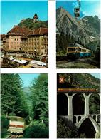 TRAINS /  Lot De 45 Cartes Postales Modernes écrites - Cartes Postales