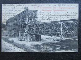 AK KORNEUBURG Eisenbahnbrücke 1910////   D*37669 - Korneuburg