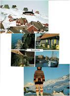 DANEMARK /  Lot De 45 Cartes Postales Modernes écrites - Postkaarten