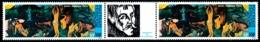 POLYNESIE 1985 - Yv. PA 186A = 186 En Paire ** SUP  Cote= 45,00 EUR - Tryptique Musée Gauguin  ..Réf.POL23706 - Neufs