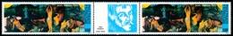 POLYNESIE 1985 - Yv. PA 186A = 186 En Paire ** SUP  Cote= 45,00 EUR - Tryptique Musée Gauguin  ..Réf.POL23707 - Airmail