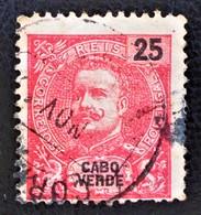 CARLOS 1ER 1903 - OBLITERE - YT 78 - Cap Vert