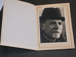 LIEGE - PROFESSEUR JACQUES DERUYTS - MATHEMATICIEN UNIVERSITE LIEGE - PHOTO A 79 ANS. Texte Au Verso - Célébrités