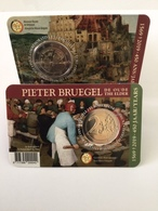 "Pièce Commémorative  2 Euro Coincard Belgique 2019  ""  Pieter Bruegel  "" - België"