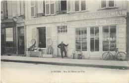 52. ST DIZIER. RUE DE L HOTEL DE VILLE. MAGASIN COMPTOIR INDUSTRIEL - Saint Dizier