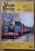 VOIE ETROITE N° 97  CF Industriels - Funiculaire De La Bourboule - Grand Roulage De Carmaux - Trains