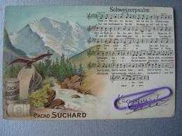 SUCHARD : SCHWEIZERPSALM Avant 1906 - Publicité