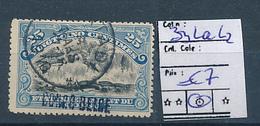 BELGIAN CONGO 1909 ISSUE COB 31La L2 USED - Belgian Congo