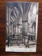 L17/239 Suisse. Fribourg.. Cathedrale De St Nicolas. Interieur - FR Fribourg