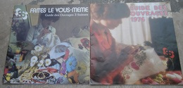 2 Catalogues Filatures Des 3 Suisses Roubaix. Guide Des Ouvrages Faites Le Vous-même 1976-1977 - Fashion