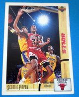 SCOTTIE PIPPEN   CARDS NBA FLEER 1992 N 39 - Altri