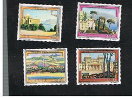 ITALIA (ITALY) - UN.1497.1500  - 1980 TURISTICA   (SERIE COMPLETA DI 4)     -  NUOVI **(MINT) - 1971-80: Mint/hinged