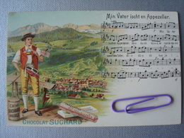 SUCHARD : Min Vater Ischt En Appezeller Avant 1906 - Publicité