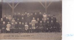 Fontenay 1907 école Des Jacobins 3° - Fontenay Le Comte