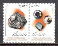 TAAF 2018 - Diptyque Minéraux : Ilménite ** - Neufs