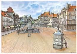 Bernard VEYRI - Lons-le-Saunier - Place De La Liberté - Kiosque à Journaux - Veyri, Bernard